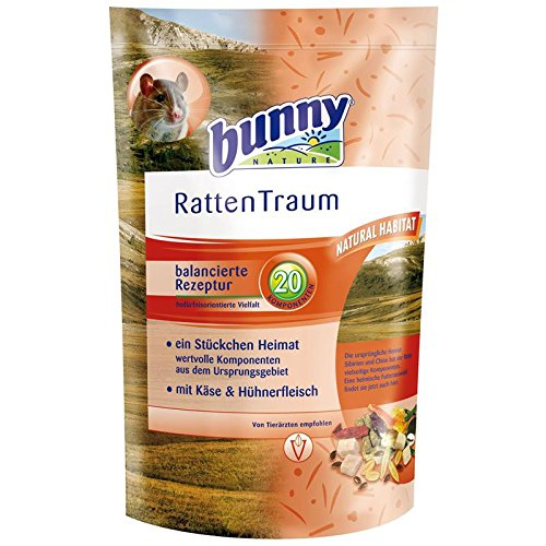 Bunny Bunny RattenTraum basic 4 kg (Haustier Versorgt Ratte)