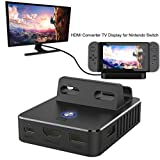 Diadia Nintendo Switch Hub HDMI Adapter 4K, Type-C USB C to HDMI Hub for Nintendo Switch Charging Dock Base Portable Accessories Converter Cable to TV