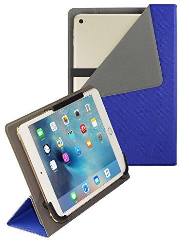 vanctec Universal Tablet Hülle 25,4cm, Tablet Fall 25,4cm, Universal Tablet PU Leder Folio Stand Cover mit Standfunktion Kamera gratis für Android Windows Tablet ASUS, Acer, RCA, Dell, HP blau blau - Tablet Case 8 Zoll-rca