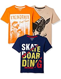 Sunday Sale : Flat 50% And More OFF On Cherokee Boys' Plain Combo T-Shirt (Pack of 3) low price image 12