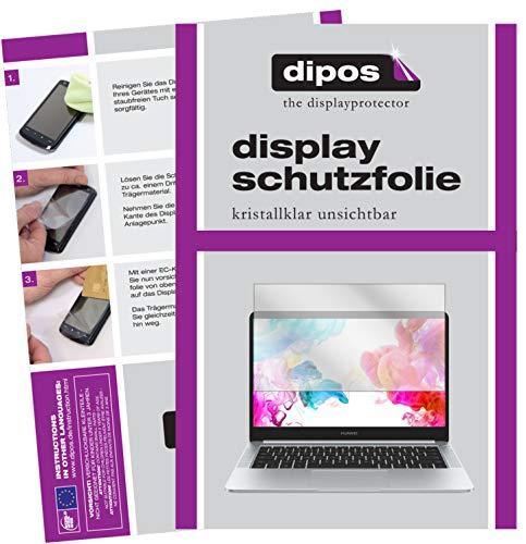 dipos I 2X Schutzfolie klar passend für Huawei MateBook D Folie Bildschirmschutzfolie