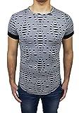 Roberto Garino Herren T-Shirt grau grau Large