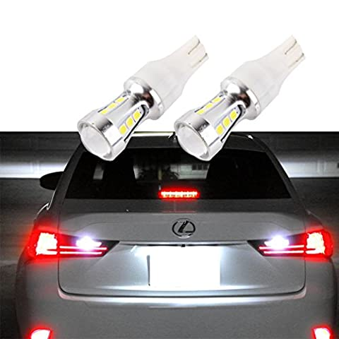 S&D 2 X T10 T15 LED Bulbs CANBUS OBC Error Free Light For Parking Light Reverse Light DC 12V-24V Xenon