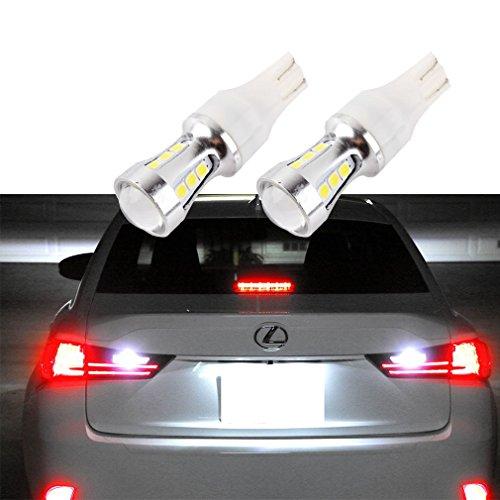 Preisvergleich Produktbild S & D 2x T10T15LED Leuchtmittel CanBus OBC Fehlerfrei Licht für Standlicht Rückseite DC 12V-24V Xenon Weiß