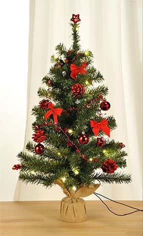 bambelaa knstlicher weihnachtsbaum christbaum 75cm komplett geschmckt dekoriert mit kugeln. Black Bedroom Furniture Sets. Home Design Ideas