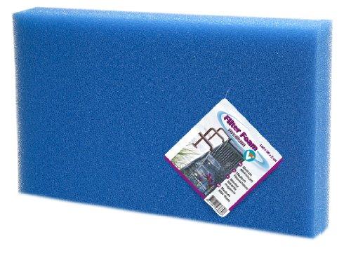 VELDA 142241 Mousse filtrante fine Bleu 100 x 50 x 5 cm