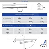 Drehtorantrieb NICE TOONA 4024/2 (Set M)...Vergleich