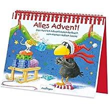 Kleiner Rabe Socke: Alles Advent!, Das Aufstell-Adventskalenderbuch vom kleinen Raben Socke (Der kleine Rabe Socke)
