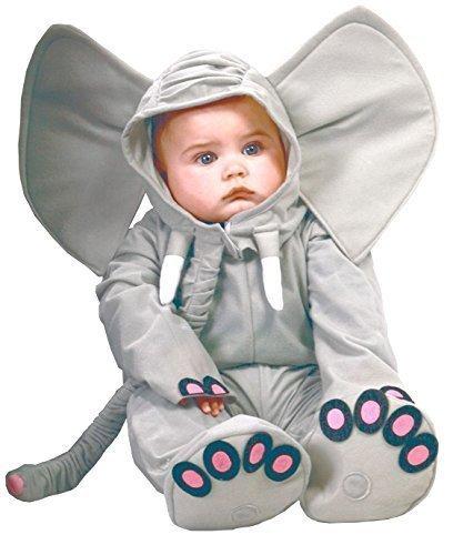 grau elefant Zoo Tier Halloween Kostüm Kleid Outfit - grau, 12-24 Months (Zoo Tier Halloween-kostüme)
