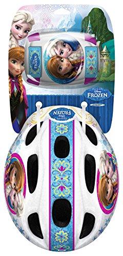 Frozen Helm und Knieschützer im Set Eiskönigin Kinderfahrrad Zubehör