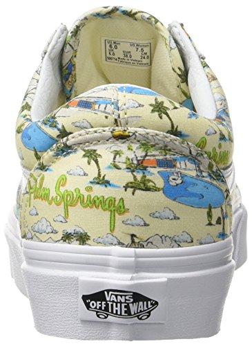 Vans UA Old Skool, Baskets Basses Femme Ivoire (Palm Springs Cloud Cream/true White)
