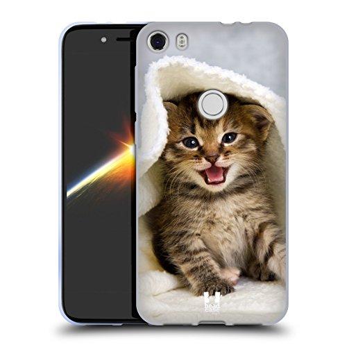 Head Case Designs Kätzchen In Einem Warmen Tuch Katzen Soft Gel Hülle für Alcatel Idol 5