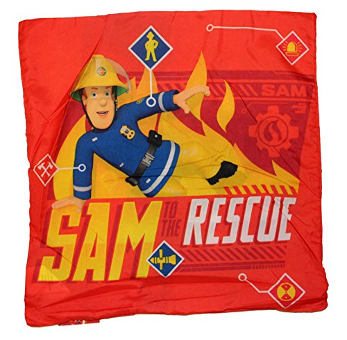 Feuerwehrmann Sam Kissenbezug 40x40cm Fireman Sam