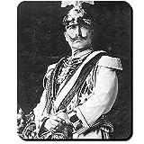 Wilhelm II Gardes du Corps Kaiser Uniform Fotografie Darstellung Hermine Preußen Deutschland König Hohenzoller - Mauspad Mousepad Computer Laptop PC #16407