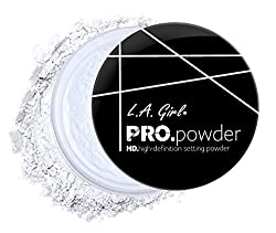 L.A. Girl Pro Powder High Definition Setting Powder, Clear, 0.79 Count (Pack of 3)