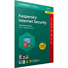 Kaspersky Internet Security 2018 Upgrade, 3 Geräte, 1 Jahr, Windows/Mac/Android, Download