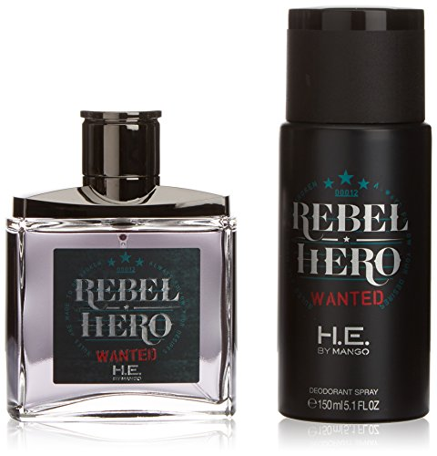 VARIOS EXPORT - LOTE MANGO REBEL HERO WANTED H.E. LOTE 2 pz-hombre
