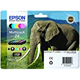 Epson 24 Series Elephant Claria Photo HD Multipack Ink Cartridge