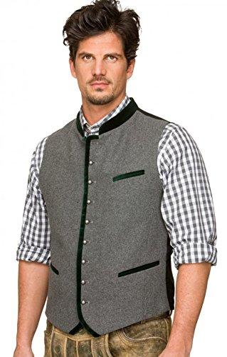 Michaelax-Fashion-Trade Stockerpoint - Herren Trachten Weste in verschiedenen Farben, Alonso, Größe:52, Farbe:Grau - 5