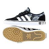 adidas Herren Adi-Ease X Mhak Skateboardschuhe schwarz (Negbas/Ftwbla / Gum4) 43 1/3 EU