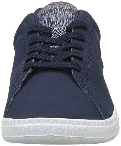 Le Coq Sportif Unisex-Kinder Courtone Ps Craft Sneakers Blau (Dress Blue/MustangDress Blue/Mustang)