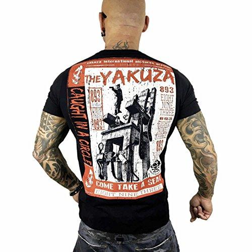 Yakuza Original Herren Take A Seat T-Shirt Schwarz