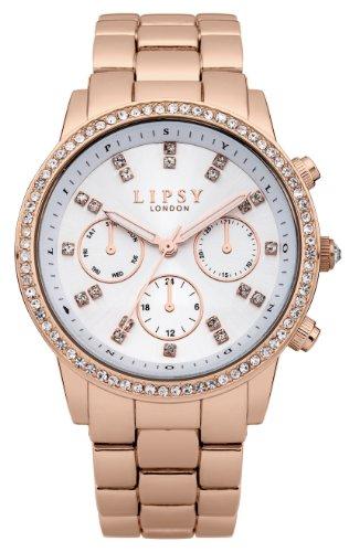 Police. LP240 - Reloj de cuarzo para mujer, con correa de acero inoxidable, color oro rosa