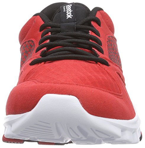 Reebok Yourflex Train 7.0, Herren Hallenschuhe Rot (Red Rush/Black/White)