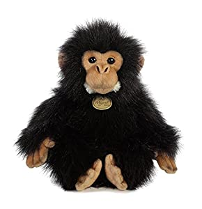 Aurora World 26293 Miyoni Chimpanzee 10,5 Pulgadas, Color Negro