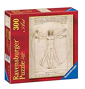 Ravensburger - Arte: Leonardo, El Hombre de Vitruvio, Puzzle de 300 Piezas (14012 1)