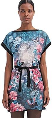 Anna Field de la mujer multicolor Floral Kimono ImpresióN a-line camiseta vestido de verano