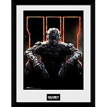 GB eye, Call of Duty Black Ops 3, Cover, Fotografia Enmarcada, 40 x 30 cm