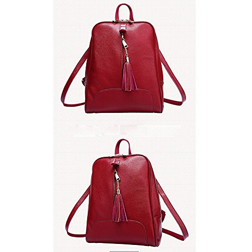 Anne, Borsa a zainetto donna nero Red Red