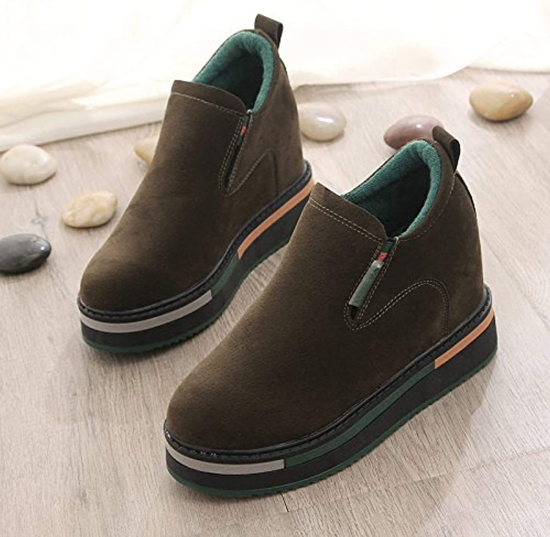 HBDLH Primavera De Dinero Mayor En El Interior Zapatos De Mujer Pedal Naturaleza Ocio Moda Zapatos De Algodón...