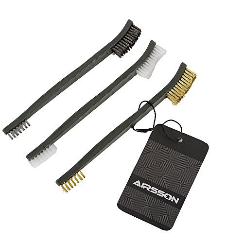 airsson pistola 3pezzi spazzola set kit di