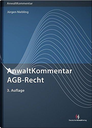AnwaltKommentar AGB-Recht (Anwaltkommentare)