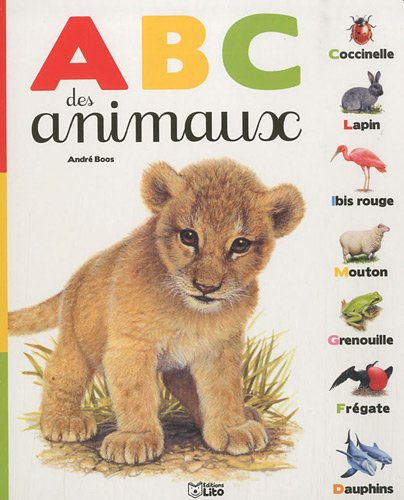 ABC des Animaux - Imagier / Cartonné - Dès 3 ans ( périmé )