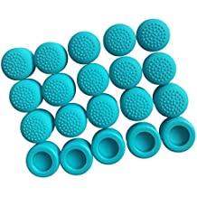 FNT 10-Pair Thumb Stick Slilicone Caps For Nintendo Switch Game Controller Blue