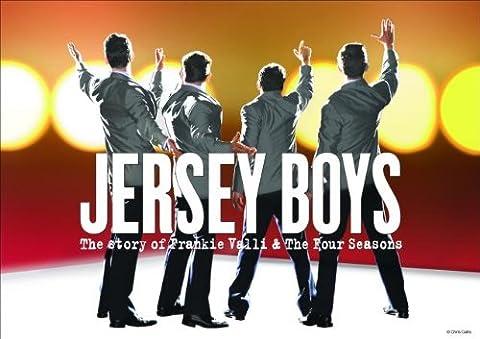 JERSEY BOYS – MUSICAL TOUR POSTER – 30CM X 43CM