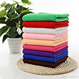 #3: Aloud Creations Multicolor Microfiber Cleaning Cloth for Car Cleaning, Kitchen, Bike, laptop, LED TV, Mirrors and Furniture, Pack of 6, 40 x 60cm (16 x 24 Inch)