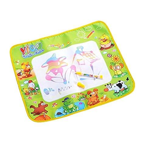 Tonsee® Dessin Peinture Eau Mat Conseil & Magic Toy Doodle Pen cadeau 58 * 48CM