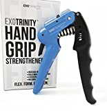 Best Grip Strengthener And Adjustable Hand Exercisers - The Ultimate Hand Grip Strengthener by ExoTrinity Sports Review