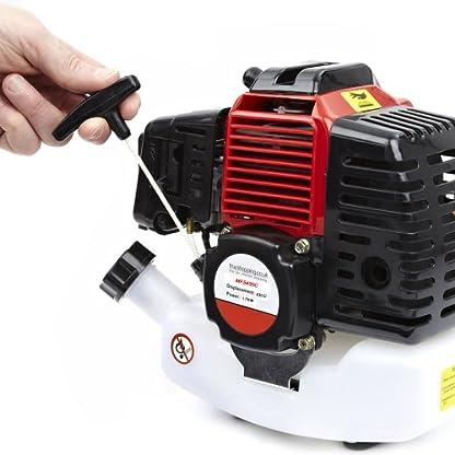 Trueshopping Podadora de Largo Alcance a Gasolina – Herramienta de Poda de Precisión con Extensión de 1 Metro – Alternativa para Tijeras de Podar – Motor de 43 CC