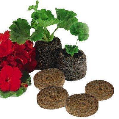 Elixir Gardens ® Jiffy 7C Peat Free Coir Plug Propagation Pellets   45mm x 42mm   x 500