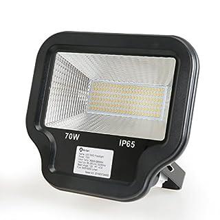 Anten® 70W LED Floodlight Warm White Waterproof Wall Lamp Spotlight Outdoor Lights 5600-6000LM