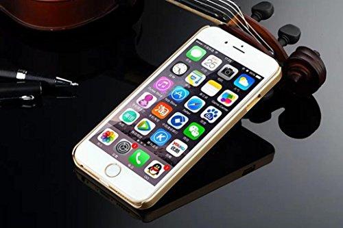 For iPhone 6 Plus / 6S Plus Hülle, Ouneed Bling Glitzer Funkeln Voll Körper Sticker Vorder- und Rückseite Film Protektor Haut für iphone 6 plus /6s Plus 5.5 Inch (Weiß) Golden