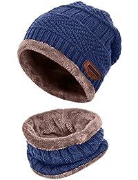 da7d9827849 Aibrou Bonnet Chapeau Tricot