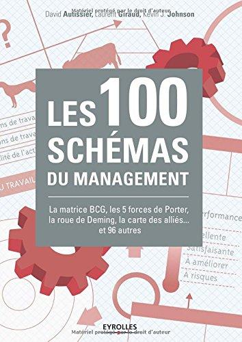 Les 100 schémas du management: La matrice BCG, les 5 forces de Porter, la roue de Deming, la carte des alliés... et 96 autres. par Kevin Johnson