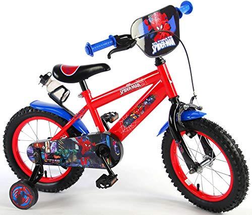 Spiderman Marvel Qualitäts Kinderfahrrad 14 Zoll Kinder Fahrrad Jungen 1454CH