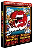 El Ataque de los Tomates Asesinos BD 1978 Attack of the Killer Tomatoes!  + El Retorno de los Tomates Asesinos 1988 Return of the Killer Tomatoes!  BD en Ed. Metálica Colecc. Limitada y Numerada [Blu-ray]